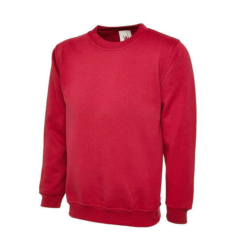 UNEEK CLASSIC UC203 SWEATSHIRT - RED