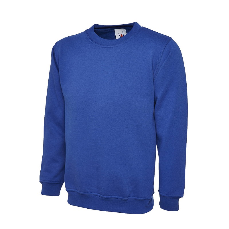 UNEEK CLASSIC UC203 SWEATSHIRT - ROYAL BLUE