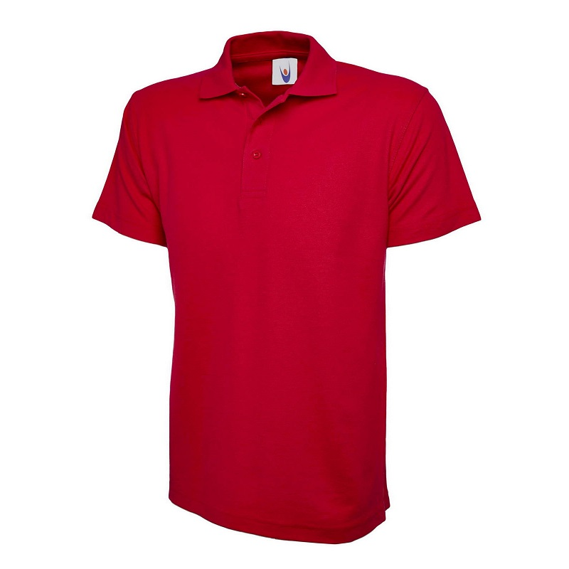 UNEEK CLASSIC UC101 POLOSHIRT - RED