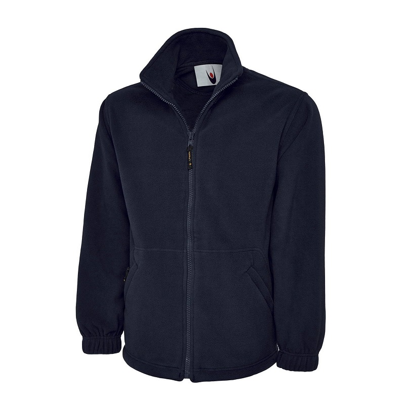 Navy Premium Fleece Jacket Uc601