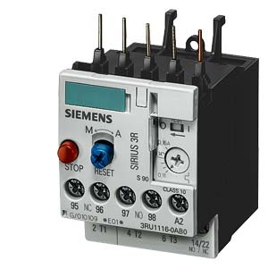 Siemens 3ru11 Thermal Overload Relays