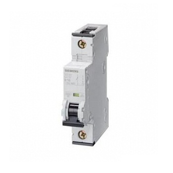 Siemens Single Pole Mini Circuit Breaker Type 'd'