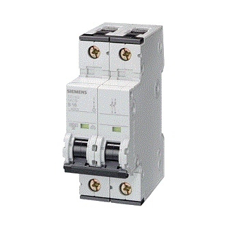 Siemens Double Pole Mini Circuit Breaker Type 'd'