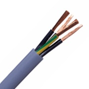 Yy Flexible Control Cable Grey 0.75mm