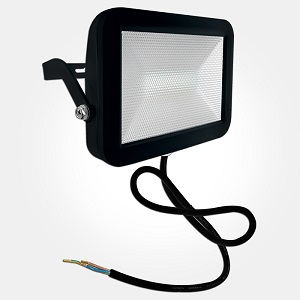ETERNA LED FLOODLIGHT 20W BLACK IP44