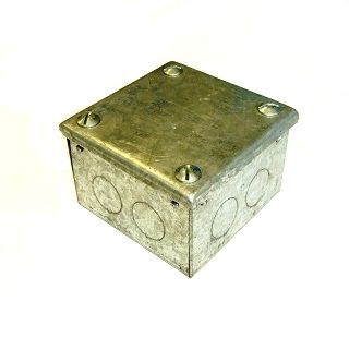 Galvanised Adaptable Boxes With Knockouts