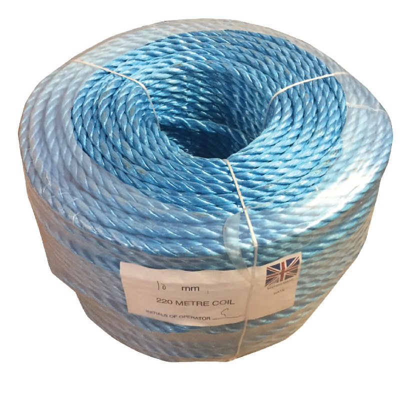 12MM DIA POLYPROP ROPE 220MTR COIL