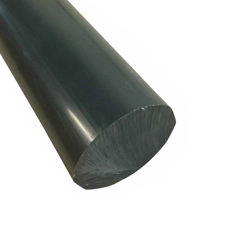 BLACK NYLON 6 ROD