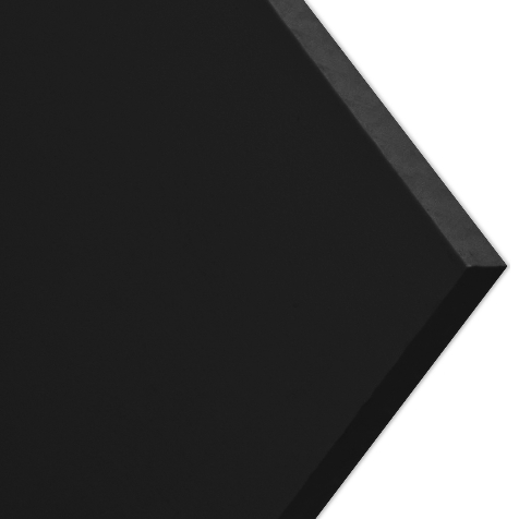 Polypropylene Plastic Sheets, Black