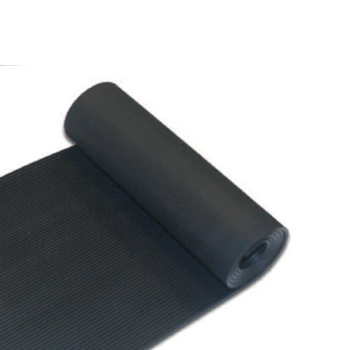 6MM THICK FINE RIBBED / FLUTED RUBBER MATTING