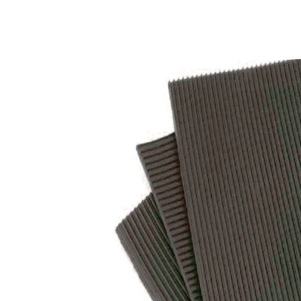 RIBBED NON-CONDUCTIVE MATTING