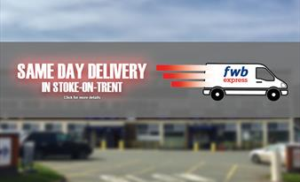 Same Day Delivery in Stoke on Trent Available Now!